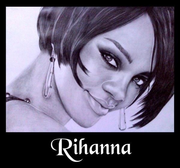 Rihanna by sanjulkm
